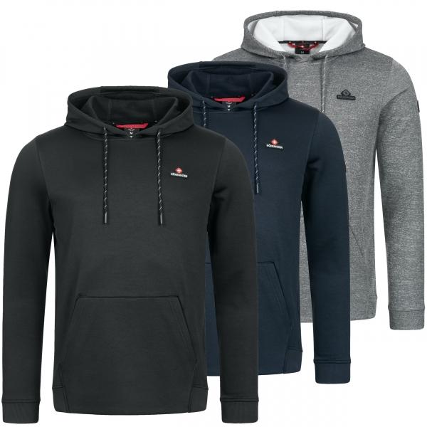 Höhenhorn Cimma Herren Hoodie Trainings Kapuzen Pullover Sweatshirt Polyester Funktionskleidung