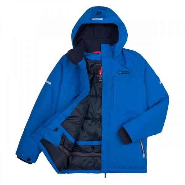 Höhenhorn Geccon Kinder Winter Jacke Jungen Mädchen Gefüttert Winterjacke mit Schneefang